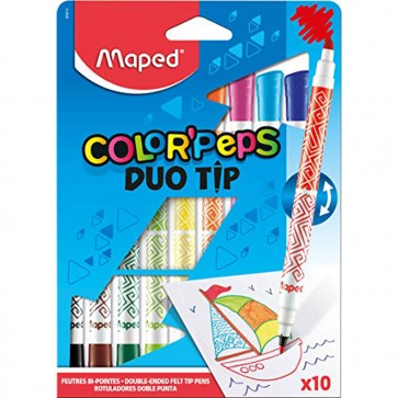 Maped Color'Peps Duo Tip Colouring Pens ()