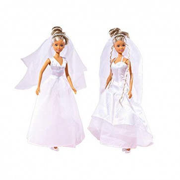 Simba Smoby 105733414 Steffi Love Wedding Doll