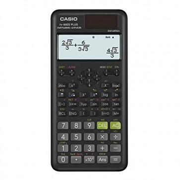 Casio FX-85ES Plus-2 Scientific Calculator  252 Functions  11 x 77 x 162 mm Black