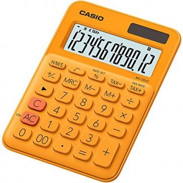 CASIO CALCULATRICE DE Bureau MS-20UC-RG  Orange