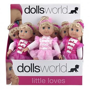 Dolls World Little Ballerina