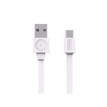 Allocacoc USB Cable USB-C White