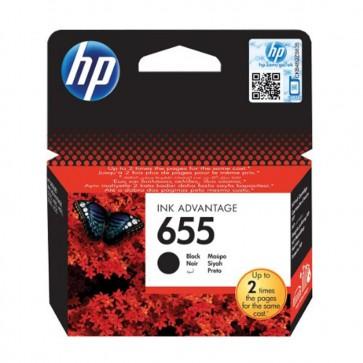 HP 655 CZ109AE Ink Cartridges - Black