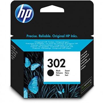 HP F6U66AE 302 Original Ink Cartridge  Black  Pack of 1