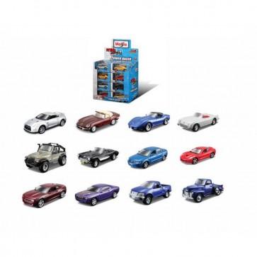 "Maisto - 4.5"" FM Power Racer Pullback Assortment - (Random Vehicle Supplied)"