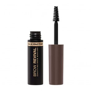Max Factor Brow Revival Densifying Eyebrow Gel with Oils and Fibers Shade Black Brown 005