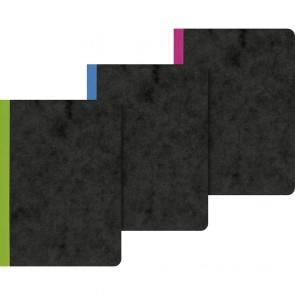 Brunnen 104363195Notebook A6Flexible Card Notable Hardback Lined Notepad 96Sheets)