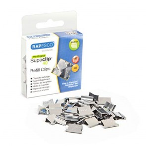 Rapesco Supaclip RC4050SS Refill Clips - Stainless Steel [0]