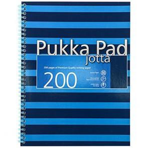 Pukka Pad Navy Jotta A4 Blue Ref 6675-NVY