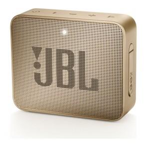 JBL GO 2 PORTABLE SPEAKER CHAMPAGNE