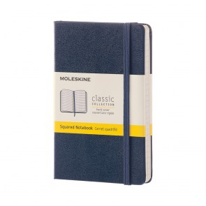 MOLESKINE POCKET NOTEBOOK SQUARED SAPPHI