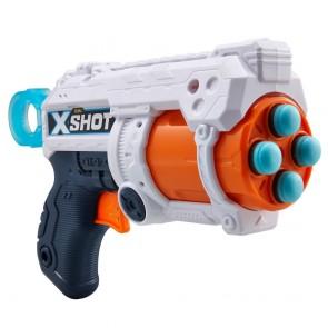 X-Shot Fury 4 Blaster and 8 x Foam Darts.