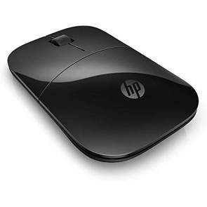 HP Z3700 Black 2.4 GHz USB  Slim Wireless Mouse with Blue LED 1200 DPI Optical Sensor  Up to 16 Months Battery Life