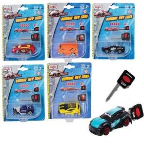 Burnin Key Cars Assortment - Maisto Diecast (Random Vehicle Supplied)
